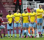 LIVE: West Ham 0-1 Crystal Palace