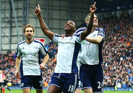 Berahino dents Saints' top-four hopes