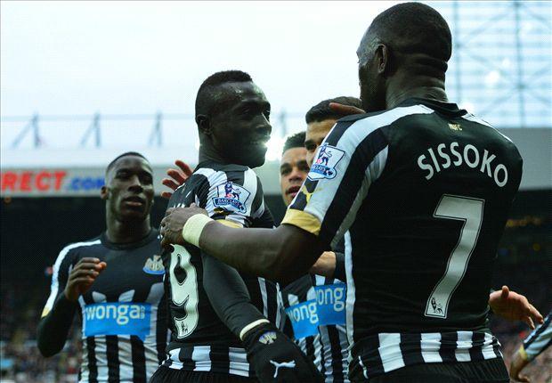 Newcastle 1-0 Aston Villa: Cisse gets Toon back to winning ways
