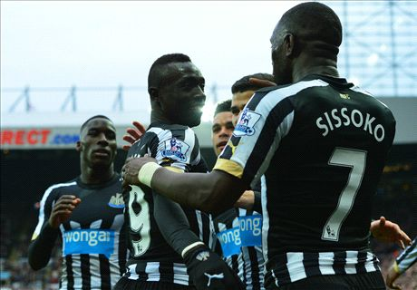 Cisse gets Newcastle back on track