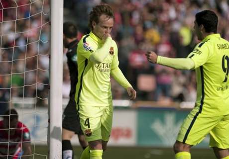 Rakitic explains Ter Stegen celebration