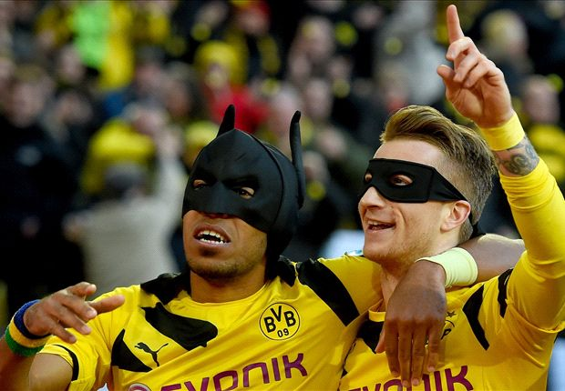 Borussia Dortmund 3-0 Schalke: Reus and Aubameyang on target to down rivals