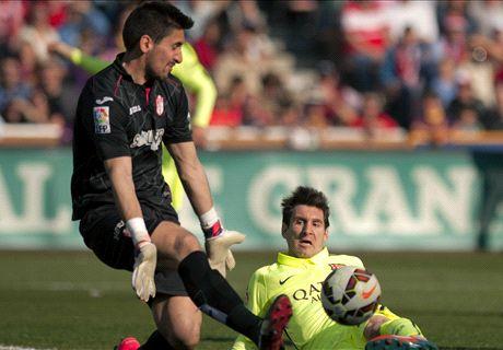 Messi & Suarez on target as Barca cruise