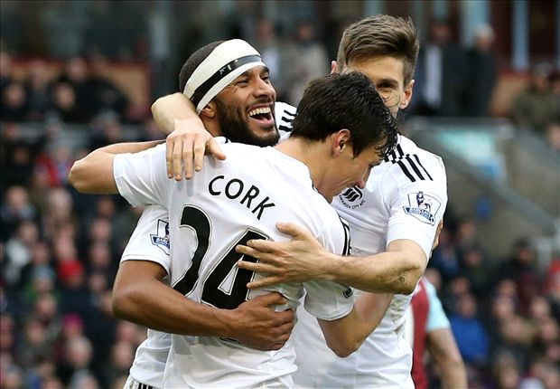 Burnley 0-1 Swansea: Trippier own goal keeps hosts in bottom three