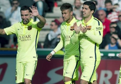 El Barcelona acaricia el título de Liga