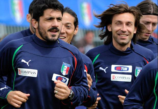 The hilarious story of Rino Gattuso trying to 'kill' Andrea Pirlo with a fork