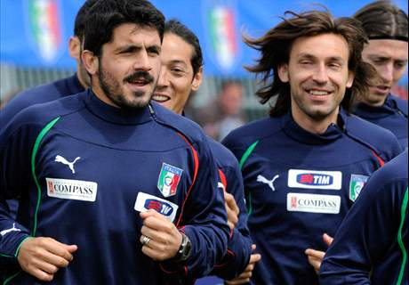 Gattuso tried to 'kill' Pirlo with a fork