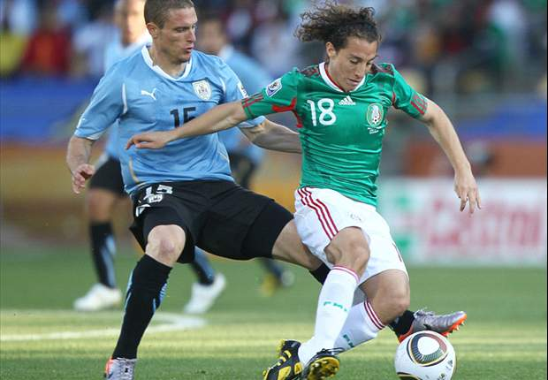 World Cup 2010: Mexico 0-1 Uruguay - Both Sides Ensure Progress In A Lively Encounter