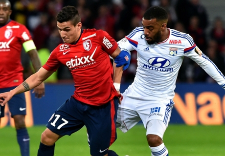 Résumé de match, Lille-Lyon (2-1)