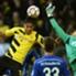Aubameyang fez o primeiro gol do Dortmund no clássico