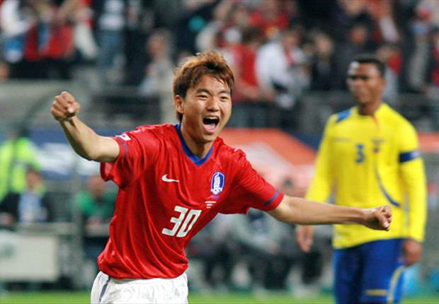 Baek Sung-dong Baek SungDong Kempes the top five new foreigners in JLeague