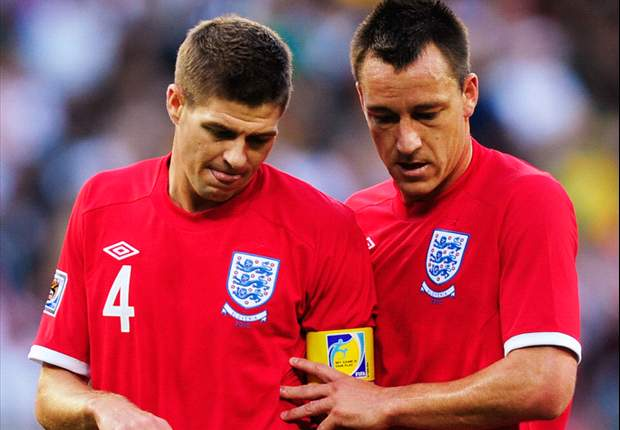 Rumours of rift between Steven Gerrard & John Terry within England's World Cup 2010 camp ruled out - report