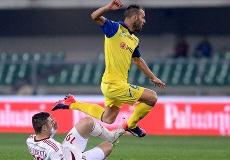 LIVE: Chievo 0-0 AC Milan