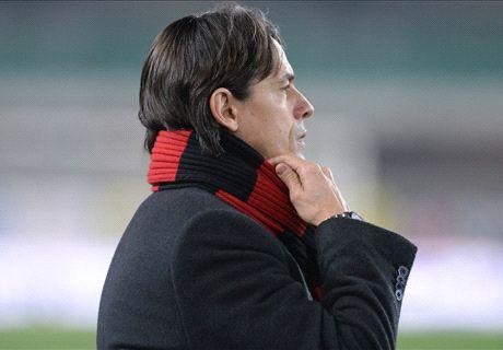 Bivio Inzaghi: ok col Verona o game over