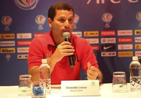 Osvaldo Lessa Bisa Dampingi Persipura Di Piala AFC