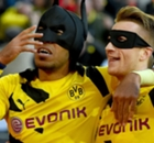 VIDEO: BVB duo are Batman & Robin!