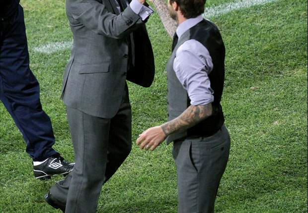 David Beckham Unruffled By Fabio Capello Calling Him 'Too Old' For England