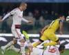 Milan in action against Chievo