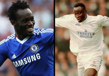 League Cup Memories: Essien and Yeboah