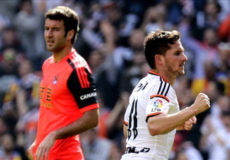 Valencia 2-0 Real Sociedad: Calificaciones