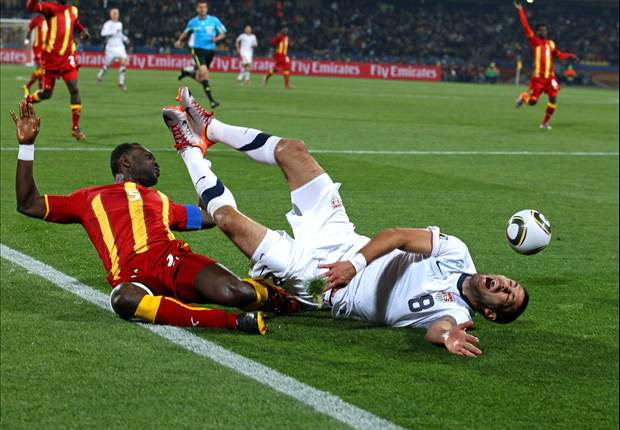 USA 1-2 Ghana: Asamoah Gyan Sends Black Stars Into Quarter Finals After Extra Time Drama