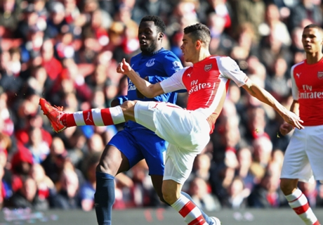 Résumé de match, Arsenal-Everton (2-0)