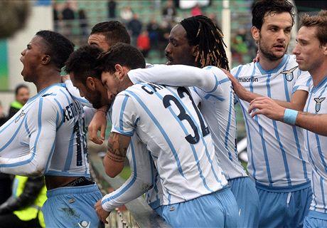 La Lazio corre con Felipe: 3-0 al Sassuolo