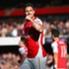 Olivier Giroud, autore del primo goal dell'Arsenal contro l'Everton
