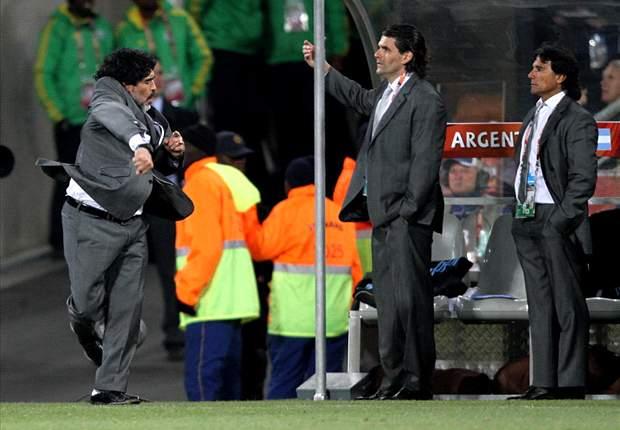 World Cup 2010: No One Can Doubt Diego Maradona - German Legend Franz Beckenbauer