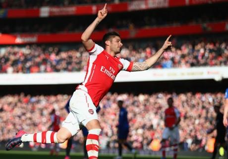 Wenger praises goalscorer Giroud