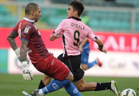 Sfortuna e Sepe, il Palermo s'inceppa