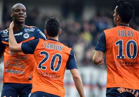 Laporan: Montpellier 2-1 Nice