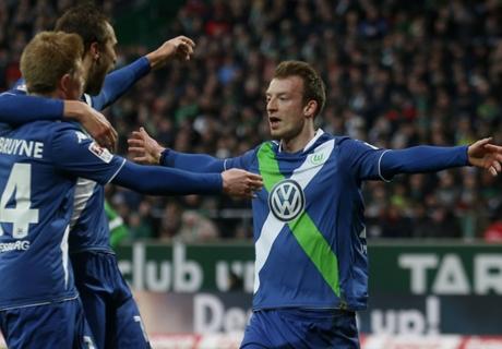 Bundesliga, 23ª - Super Wolfsburg: 5-3!