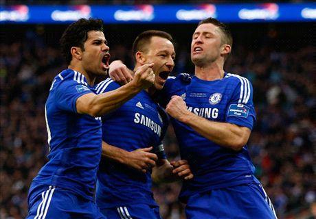 Chelsea wint League Cup