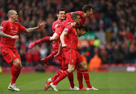 Betting: Liverpool 6/5 for top four