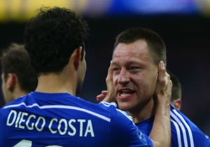 Diego Costa and Chelsea captain John Terry