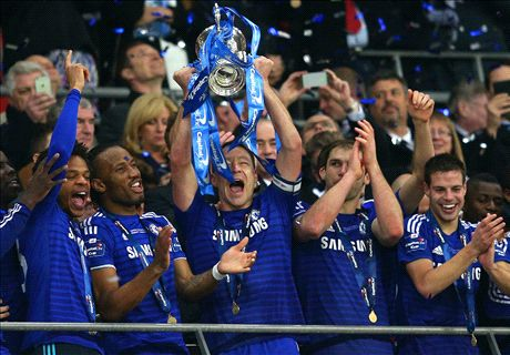 Chelsea charge to League Cup glory
