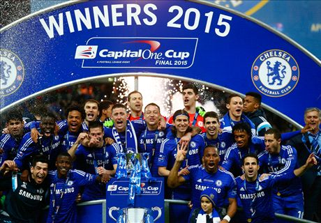Chelsea win the League Cup - LIVE