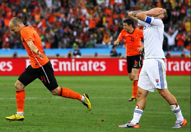 World Cup 2010: Goal.com Player Of The Day: Arjen Robben - Netherlands