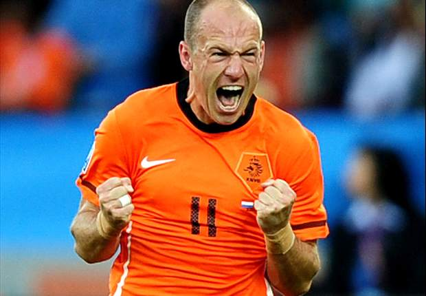 World Cup 2010: Brazil coach Dunga admits Netherlands star Arjen Robben is an 'exceptional' talent