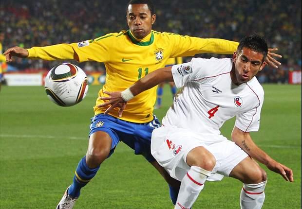 Brazil 3-0 Chile: Juan, Luis Fabiano & Robinho Send Selecao Steaming Into Quarter-Finals