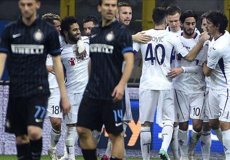 FT: FC Internazionale 0-1 Fiorentina