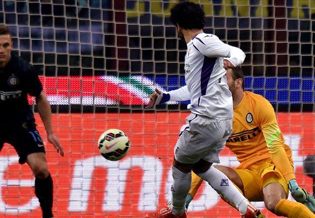 Inter 0-1 Fiorentina: Salah strikes to sink Nerazzurri
