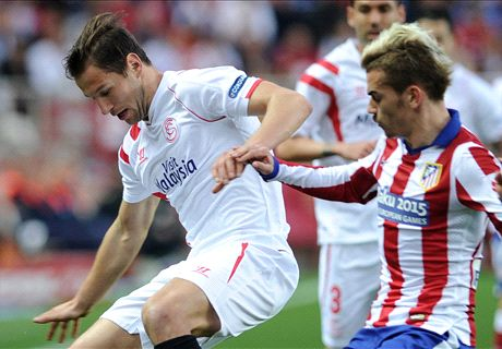 Atletico settle for Sevilla stalemate