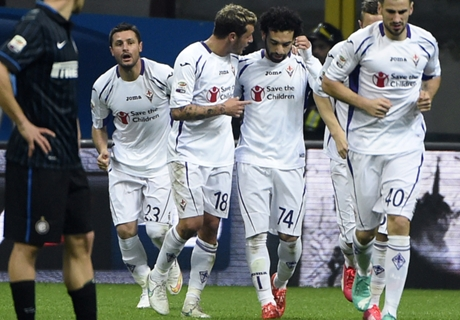 Itália: Internazionale 0 x 1 Fiorentina