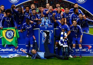WE ARE THE CHAMPIONS | El Chelsea se consagró campeón de la Copa de la Liga <a href='http://www.goal.com/es/match/chelsea-vs-tottenham-hotspur/1994814/report' target='_blank'>en Wembley</a>