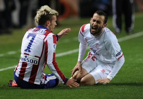 Atletico und Sevilla teilen sich die Punkte