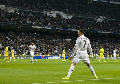 FT: Real Madrid 1-1 Villarreal