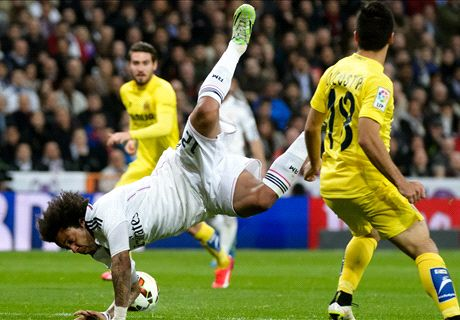 Player Ratings: Real Madrid 1-1 Villarreal