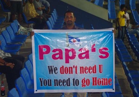 Papas short on time